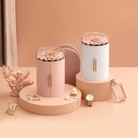large capacity jewelry storage box multifunctional 5 layer double door flower jewelry box earring necklace ring storage