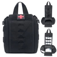 tactical first aid kit utility medical accessory bag 1000d molle waist pack outdoor survival hunting medic bag