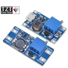 TZT MT3608 DC-DC Step Up Converter Booster Power Supply Module Boost Step-up Board MAX output 28V 2A
