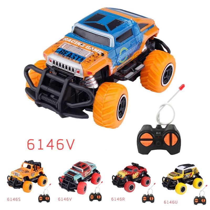 Motors Drive High Speed Racing Kids Boys Girl Children Remote Control Car Model Dirt Bike Vehicle Toy 2.4G Monster Trucks
