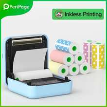 2021 PeriPage Portable Thermal Bluetooth Printer Mini Photo Pictures For Mobile Android iOS Phone 58mm Pocket Machine A6