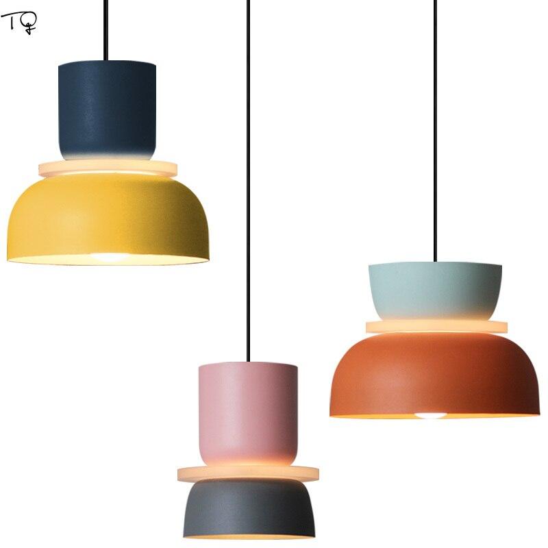 مصمم الحديثة ماكرون نجفة مزودة بإضاءات ليد E27 الفن ديكور داخلي الإضاءة المطبخ الطعام/غرفة المعيشة مطعم غرفة نوم مقهى