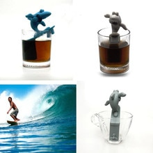 Tea Strainer Silicone Shark Tea Maker Tea Leak Surfboard Tea Maker Elephant Tea Tea Leak Easy To Remove And Clean