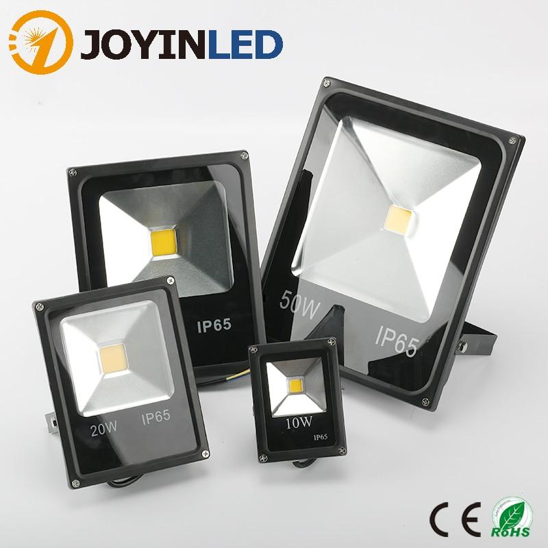 Luz LED JOYINLEDLED para exteriores, Reflector LED de 10W, 20W, 30W, 50W, Reflector proyector Led AC230V, iluminación LED para exteriores
