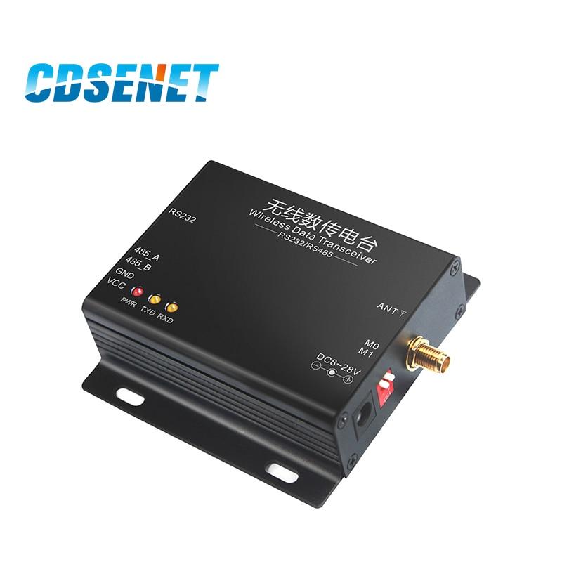 LoRa SX1278 433MHz Long Range 5W Transceiver Receiver 37dBm 20km CDSENET E32-DTU-433L37 RS232 RS485 433 MHz wifi Serial Port enlarge