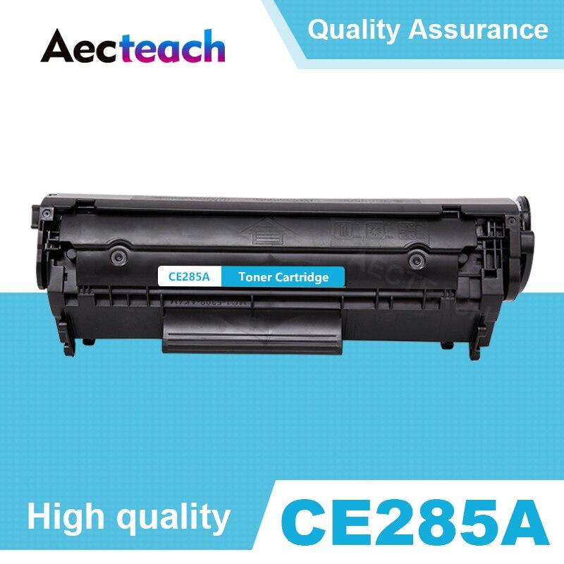 Aecteach CE285A 285A 85A cartucho de toner para HP LaserJet Pro P1102 M1130 M1132 M1210 M1212nf M1214nfh M1217nfw impressora preto
