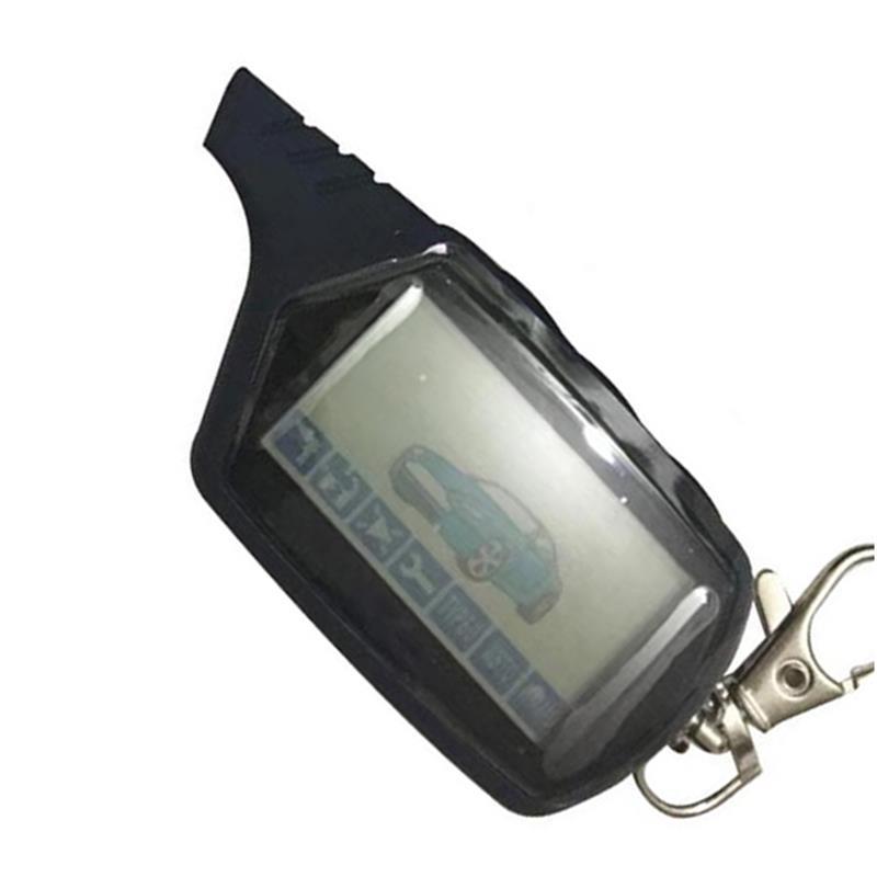 10 قطعة/الوحدة الروسية A61 LCD التحكم عن بعد مفتاح فوب ل 10 قطعة/الوحدة المفاتيح Starline A61 2 طريقة اتجاهين سيارة نظام إنذار