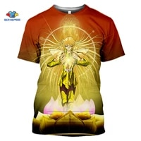 sonspee fashion japan classic anime saint seiya t shirt menwomen 3d print t shirts unisex harajuku style tommy streetwear tops