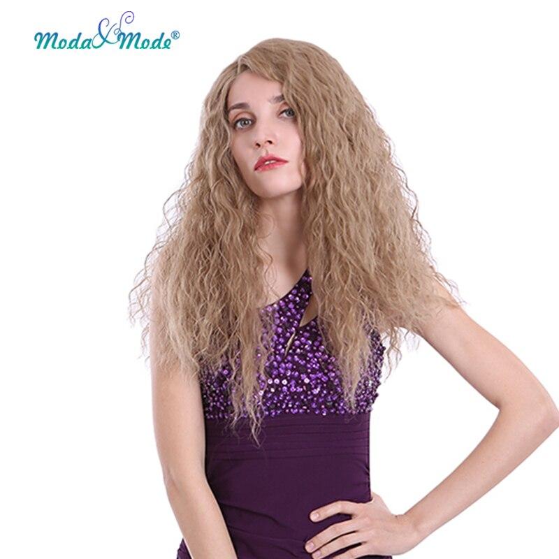 """Moda y modo Peluca de encaje rizado hinchable largo 24 """"peluca frontal..."""