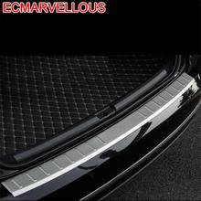 Trunk Rear Panels Foot Pedal Automobile Chromium Decorative Car Styling Decoration 11 12 13 14 15 16 17 18 FOR Volkswagen Passat