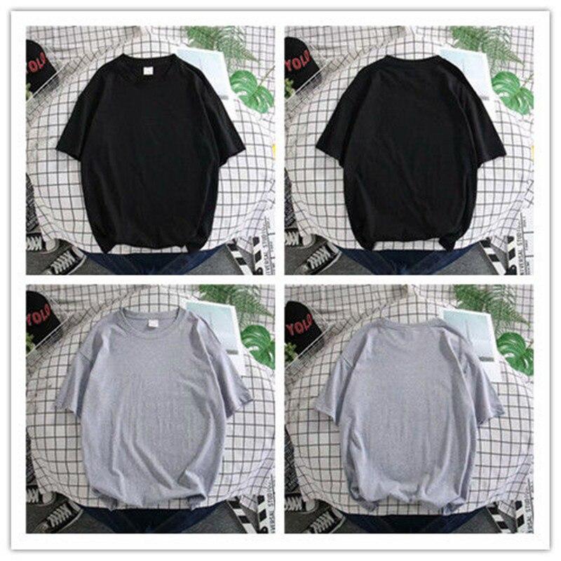 Tshirts Large Size Men's Clothing T-Shirt Short-Sleeved Korean Hedging Tees Tops Loose Harajuku Streetwear Oversized T Shirt Man  - buy with discount