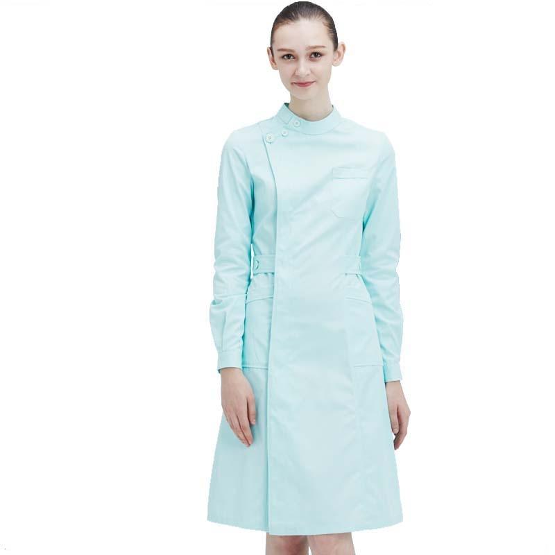 متعدد الألوان السيدات الطبية رداء ثوب المرأة معطف للمختبر ممرضة فرك زي طبيب المستشفى الطبي وزرة معطف للمختبر زي مستشفى