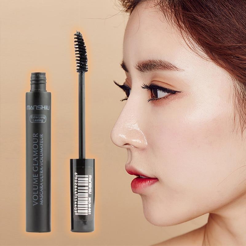 Professional Makeup Color Mascara Waterproof Fast Dry Eyelashes Curling Lengthening Makeup Eye Lashe