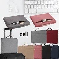 Einfarbig Laptop Tasche fur Dell XPS 11 12 13 14 15 Vostro 5370 inspiron 13 7390 5391 14 15 G3 15 Notebook Wasserdichte Zipper Tasche