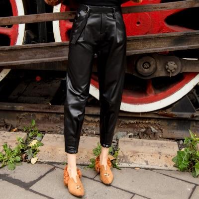 MESHARE New Fashion Genuine Sheep Leather Pants BP30