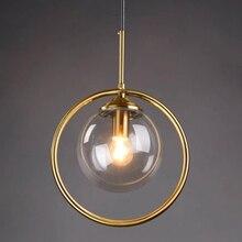 LukLoy Glass Ball Pendant Light Ball Ceiling Pendant Lamp Hang Lamp for Bedroom Foyer Pantry Living Room Dining Table Island