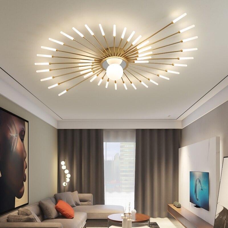 جديد الألعاب النارية الثريات المدخل دراسة غرفة المعيشة غرفة نوم المطبخ قاعة الإضاءة إضاءة داخلية المنزل الدافئة بريق