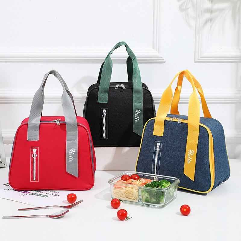 Новый Ланч-бокс, сумка, Портативный Ланч-бокс для офиса, новый изоляционный Ланч-бокс, сумка, Портативный Ланч-бокс Keepfresh с охлаждением, сумка