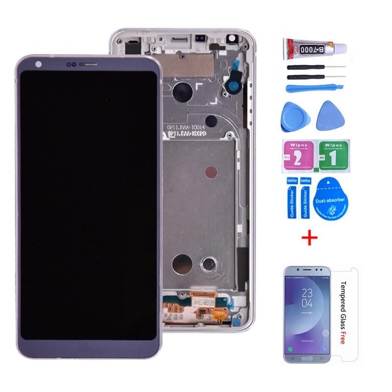 Pantalla LCD Original para lg g6 H870 con montaje de digitalizador con pantalla táctil para lg g6 H870DS H872 LS993 VS998 US997 LCD con marco