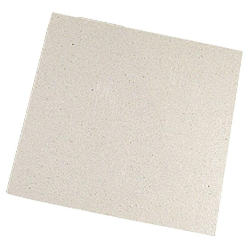 Placa de Mica para microondas, 2 x reemplazo, 12x12 cm