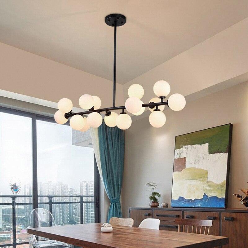 Modern Led Ceiling Lights For Dining Room Bedroom Luminaria Black Gold Vintage Living Ceiling Lamp Home Lighting Fixtures
