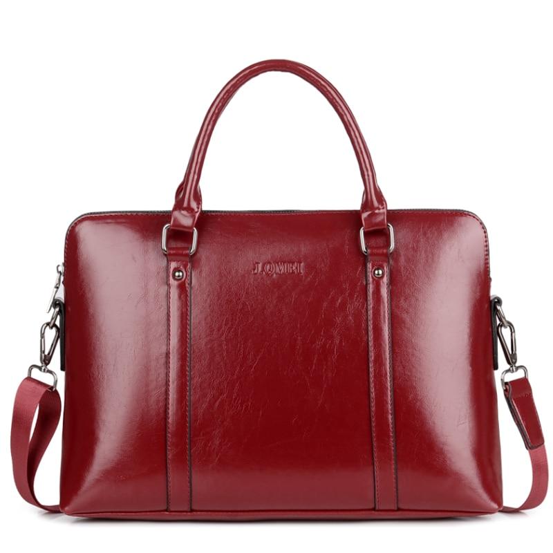 Waterproof Business Briefcase Women Bag for Laptop 13 14 15 PU Leather Notebook Tablet Case Office Shoulder Crossbody Handbag