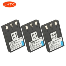 JHTC NB-1L NB-1LH NB1LH батарея для Canon S110 Digital ELPH, S200, S230, S300, Shot S330, Powe NB1L 1500mAh батареи