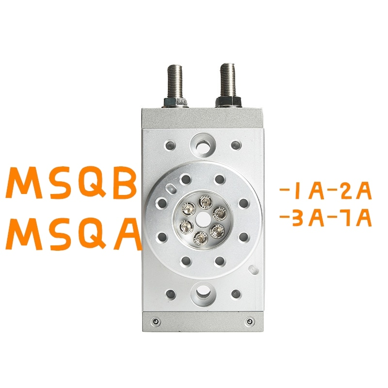 MSQB الروتاري هوائي اسطوانة MSQB1A MSQB2A MSQB3A MSQB7A MSQA1A MSQA2A MSQA7A MSQA3A قابل للتعديل 0-190 درجة SMC Typr