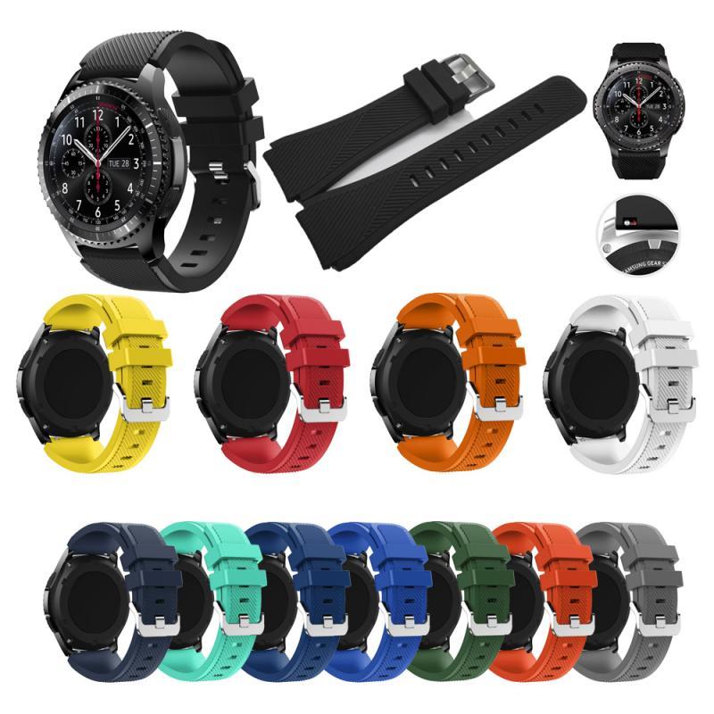 Pulsera deportiva para reloj Samsung Galaxy R800, correa de 46mm, reloj Huawei GT Smart Watch, correa de 22mm