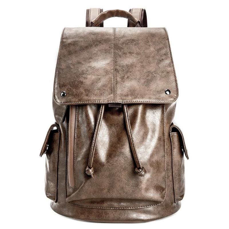 Backpack Men'S Backpack Casual Large Capacity Student Bag Korean Computer Bag Fashion Trend Travel Bag