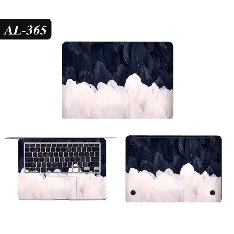 Conjunto completo de adesivo de vinil para macbook pro 16 a2141 impressão colorida pvc portátil pele para macbook ar pro retina 11 13 15 17 capa