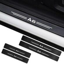 Autocollants protection de portes de voiture   4 pièces, pour Audi A4 B5 B6 B7 B8 B9 A3 8P 8V 8L A5 A6 C6 C5 C7 A4 A1 A7 A8 Q2 Q3 Q5 Q7 TT, accessoires