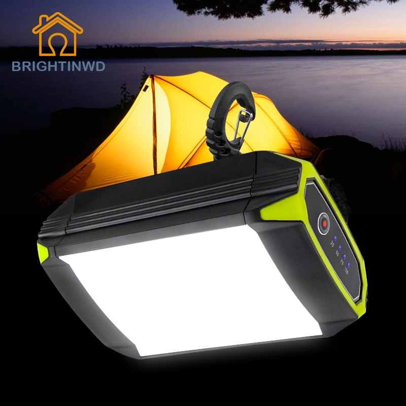 30 مصباح محمول led مع بنك طاقة ومنفذ USB ، مصباح خارجي ، مثالي للخيمة والتخييم