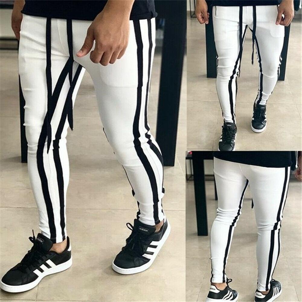 Мужские тренировочные брюки, повседневные спортивные штаны для фитнеса, тренировочные джоггеры, спортивные брюки в стиле хип-хоп