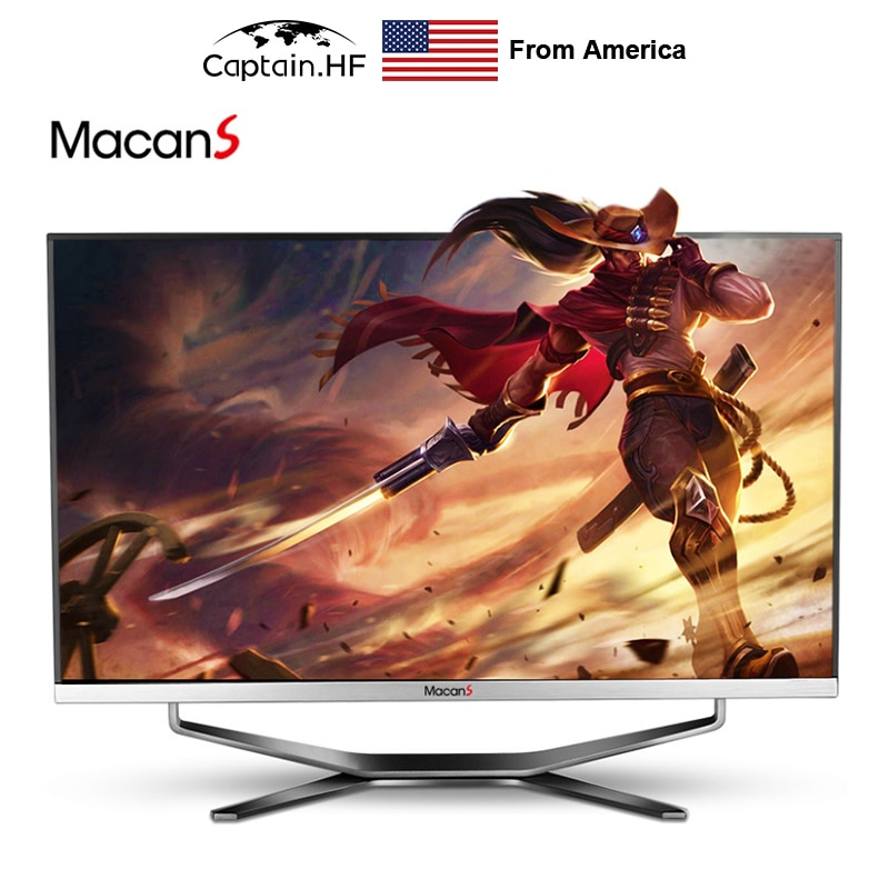 US Captain 24 inch All in One Computer, Curved surface display, High Independent Graphics Card, Intel Core i5, Gaming Desktop PC