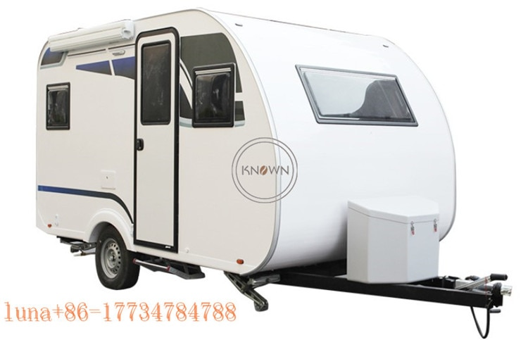 ¡Producto en oferta! Caravana de campo de 5 personas para exteriores, remolque de viaje para carretera, remolque