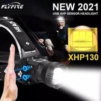 high power xhp160 xhp130 2 led headlamp xhp90 led headlight 18650 rechargeable usb head flashlight xhp70 zoom fishing head light