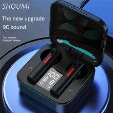 Новые наушники Bluetooth T13 Беспроводной наушники светодиодный цифровой Дисплей наушники вкладыши TWS с микрофоном наушники Шум отменить гарнитуры