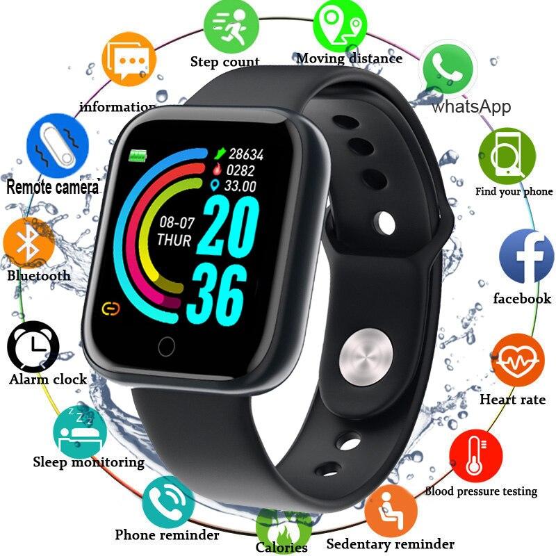 2020 nouvelle montre intelligente hommes femmes tension artérielle Smartwatch étanche fréquence cardiaque Tracker Sport horloge pour Android IOS Apple Xiaomi
