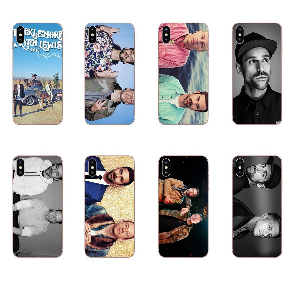 De los casos Macklemore y Ryan Lewis imprimir para LG G2 G3 G4 G5 G6 G7 K4 K7 K8 K10 K12 K40 Mini Plus ThinQ 2016 de 2017 a 2018