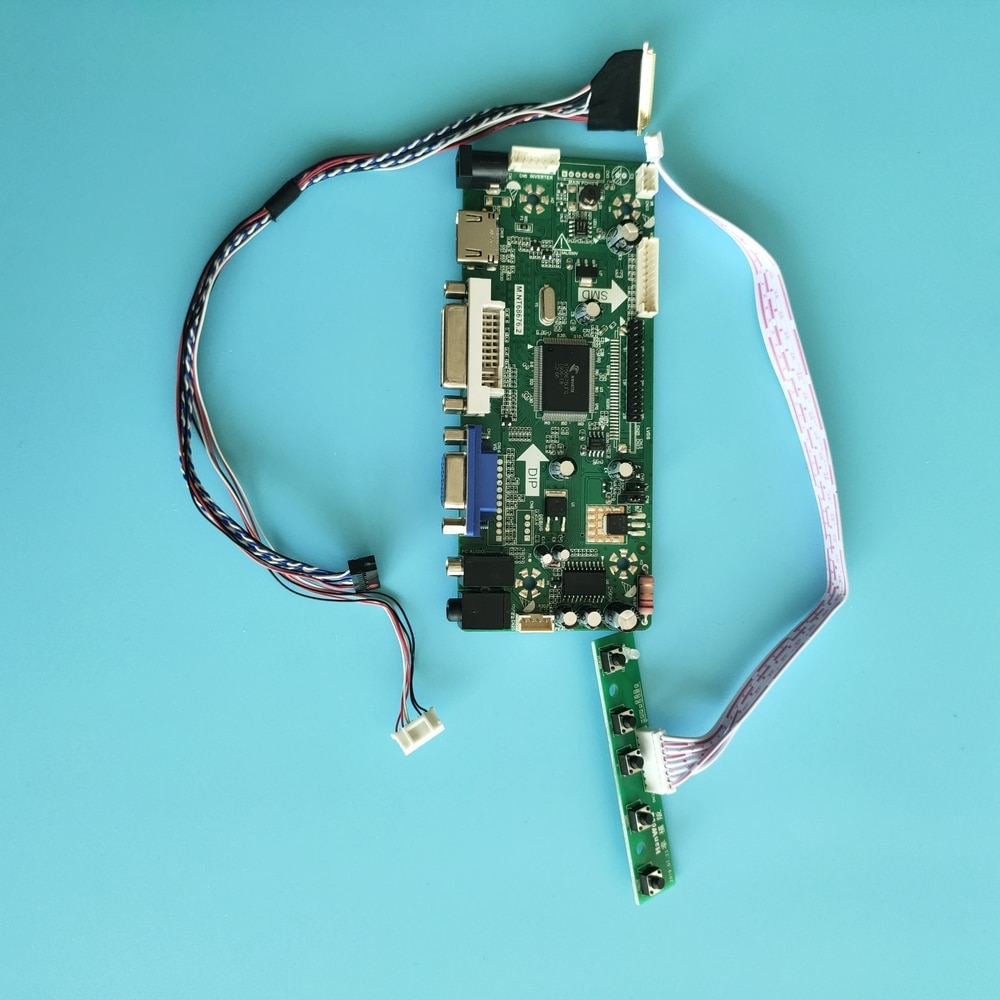 كيت ل LTN140AT07-F01/LTN140AT07-B01 LCD شاشة LED لوحة 1366x768 M.NT68676 40pin HDMI + DVI + VGA 14