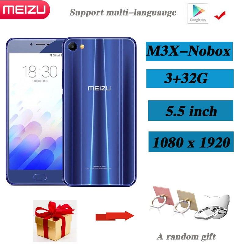 Meizu-teléfono inteligente M3X, 3GB, 32GB, cámara Dual, Batería grande de 3200mAh, compatible...