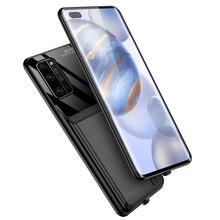 10000 Mah batterie étui pour Huawei Honor 30 30S 30 Pro support de téléphone intelligent batterie chargeur boîtier batterie 30 batterie étui
