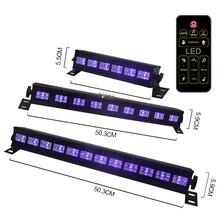 Gorąca sprzedaż UV fioletowe światło LED oświetlenie bożonarodzeniowe Halloween barwienie oświetlenie sceniczne lampa UVC sklep może zidentyfikować prawdziwą i fałszywą gotówkę