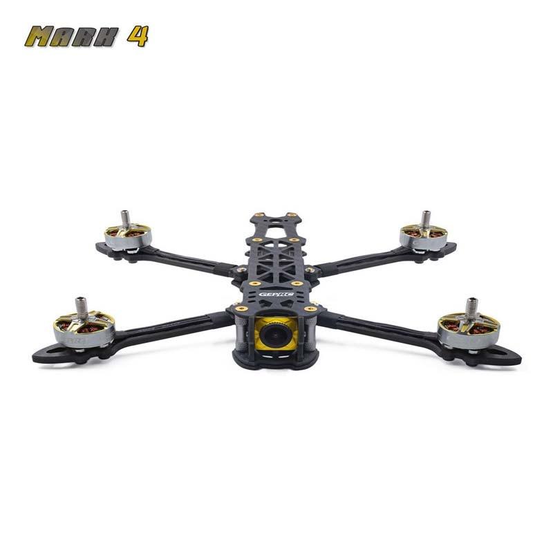 Geprc MARK4 225mm 5 pulgadas/260mm 6 pulgadas/295mm 7 pulgadas alta calidad 3K sarga fibra de carbono placa marco Kit para RC Drone FPV Racing