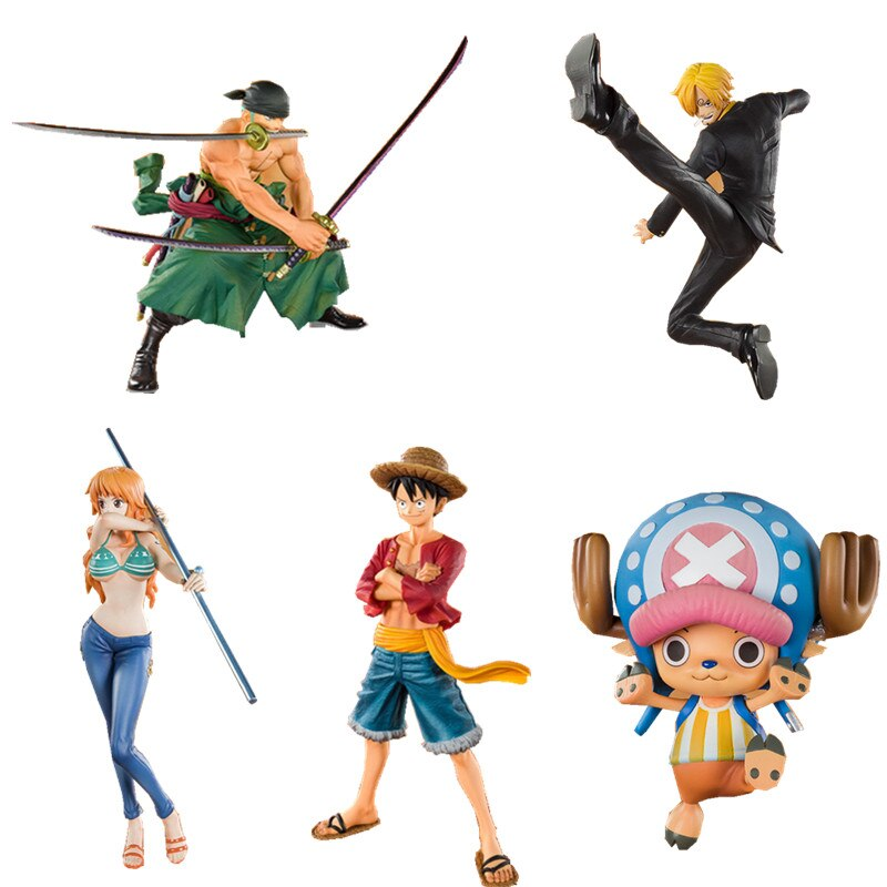 7 anime figure neca pvc jason voorhees friday ultimate horror deluxe edition action figure model toys for collection gift Japanese One Piece Figure Luffy Chopper Nami sanji 20th Anniversary Edition PVC Anime Action  Figure Model Collection Toy gift