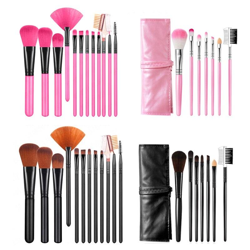Juego de brochas de maquillaje Limegirl de 20/5/7 unids/lote, brocha cosmética para maquillaje, maquillaje de pestañas