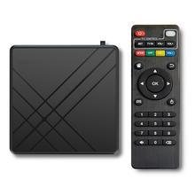 4GB RAM 32GB ROM Smart TV Set Top Box For Android 9.0 TV Box 4K 3D Home Audio Video Equipment Amlogi