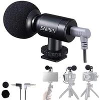 sairen universal video microphone professional on camera mic mini super cardioid condenser for iphone smartphone