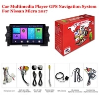 for nissan micra 2017 accessories car android multimedia player radio 9inch ips screen dsp stereo gps navigation system video